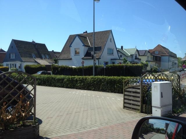 Das Haus an der Kisdorfer Straße im Mai 2012